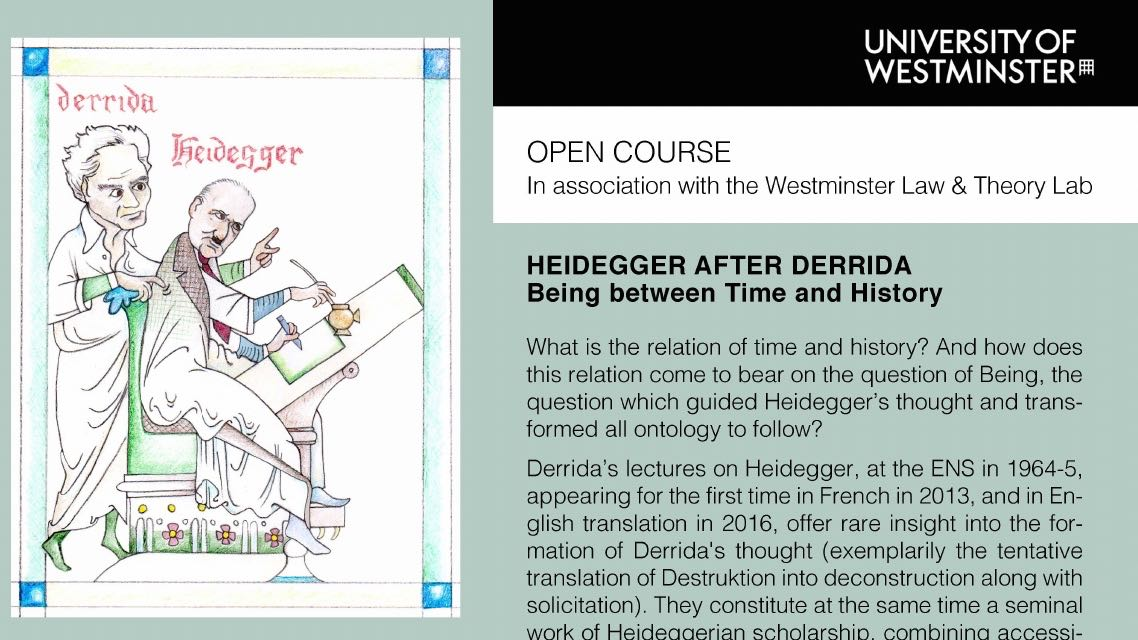 Transformed By Time And History >> Heidegger After Derrida Being Between Time And History University