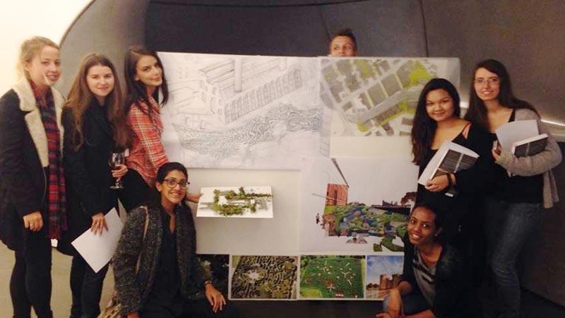 2014 AIA UK Student Charrette winners