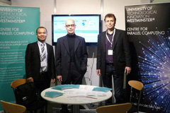 Centre for Parallel Computing staff at Olympia