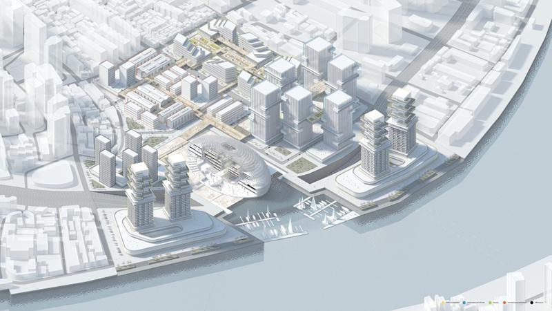 Creative Nest, Shanghai Urban Creative Cluster by Lorenzo Sett
