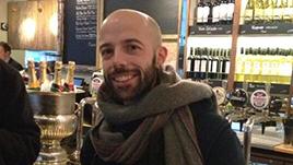 Andrea Pavoni celebrates his PhD
