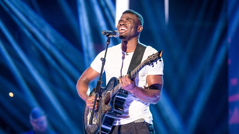 Emmanuel Nwamadi in The Voice