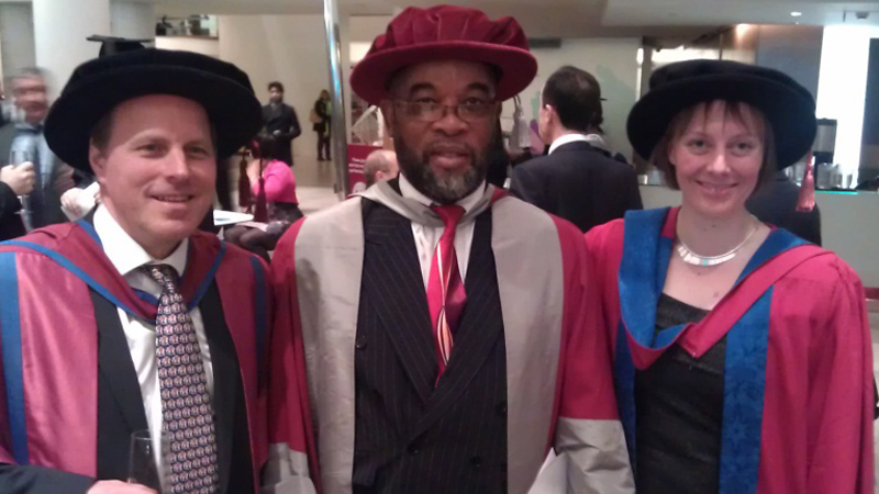 Mike Gordge, Clement Opoku-Okrah & Caroline Smith