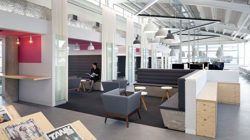 New Harrow Library at University of Westminster