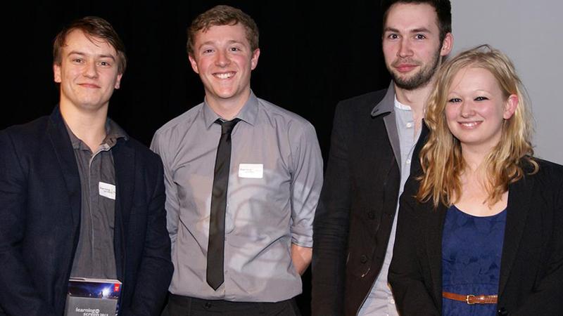 Steve Chamberlain, Simon Waldock, Callum Henderson and Charlotte Daniel