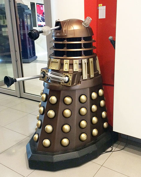 A Dalek at the Politics of Law and Dr Who