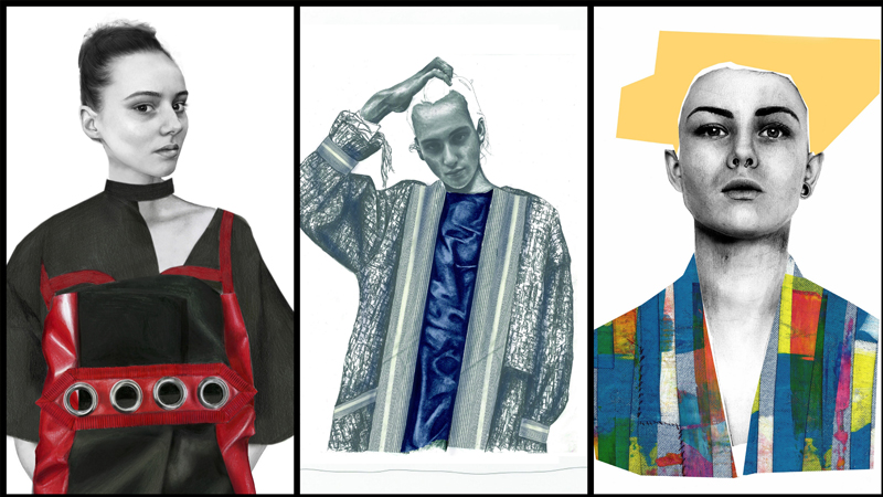 Westminster fashion design students win BFC Illustration Award