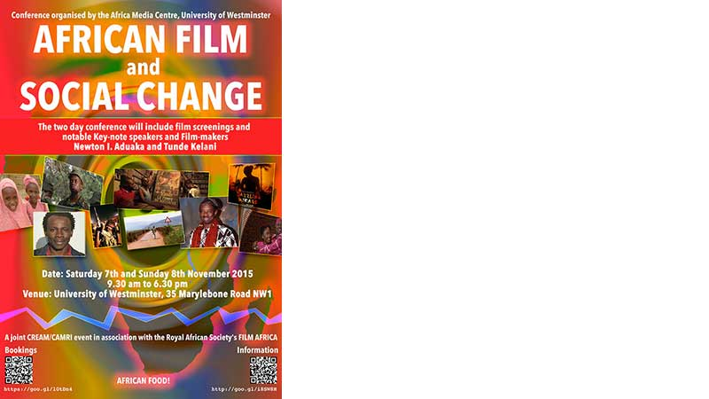 African film conference poster