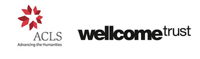 Advancing the humanities and the Wellcome trust logos