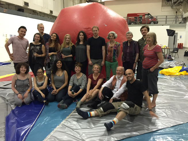 Inflatable Cinema: Action Space Film Project