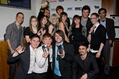 Westminster Students with Kodak awards