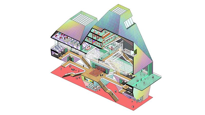 Image of Fashion Hub design