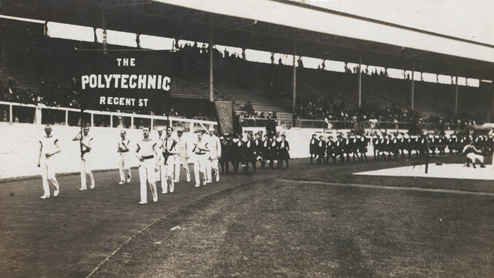 The Polytechnic at the 1908 Olympics