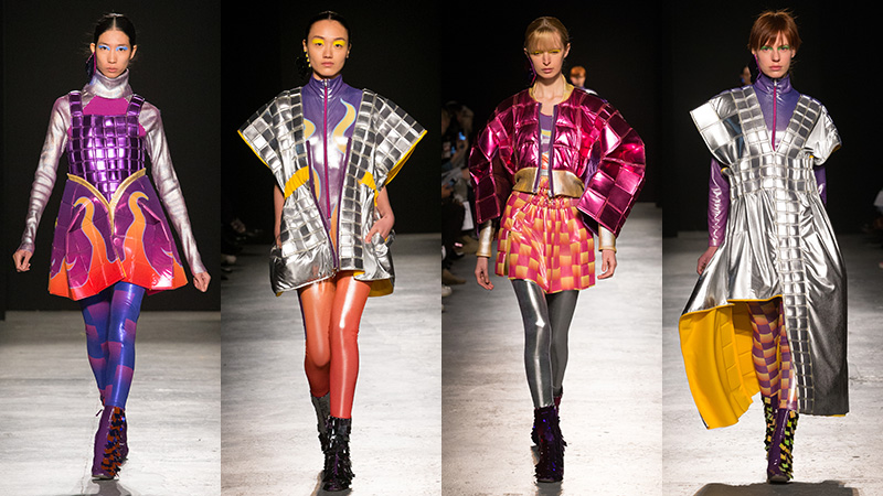 Westminster Ba Fashion Students Show At London Fashion Week University Of Westminster London