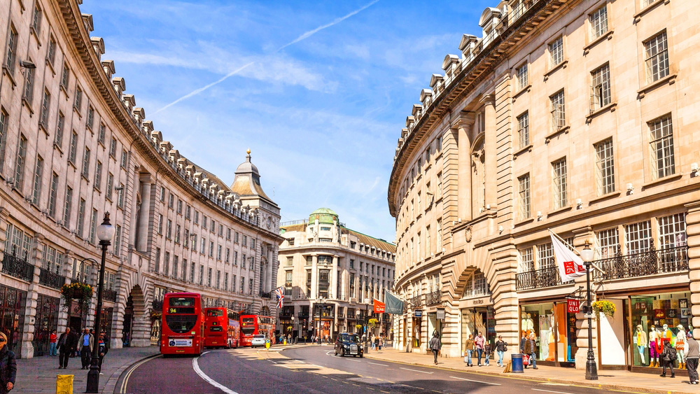 Regents Street Restaurants London