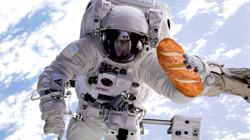 Westminster Alumnus Pioneers Crumb Free Bread For Astronauts To Feel At Home News And Events University Of Westminster London