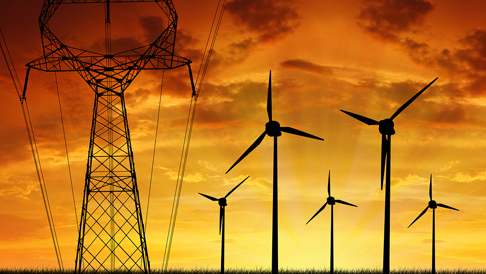 Электричество из ветра