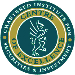 Chartered Institute for Securities and Investment - Centre of Excellence logo