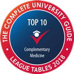 complete university guide logo - complementary medicine