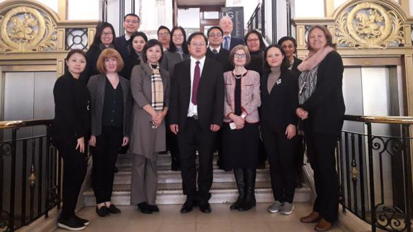 Chinese Delegation visit on Regent Campus