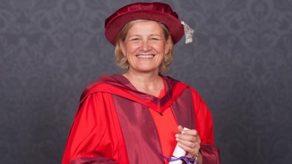 Cilla-Snowball-receives-Hon-Doc-award-from-University-of-Westminster