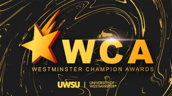 Poster for the Westminster Champion Awards