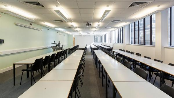 Interior view of Cavendish classroom
