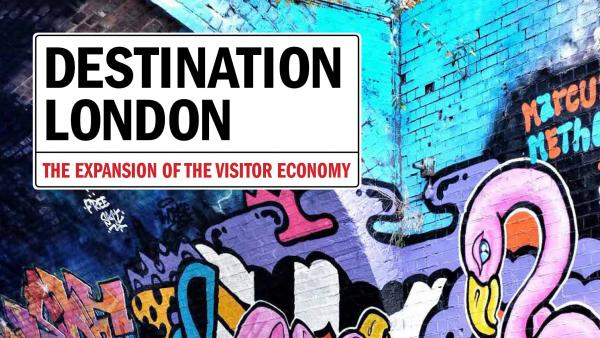 Book cover of Destination London: The Expansion of the Visitor Economy