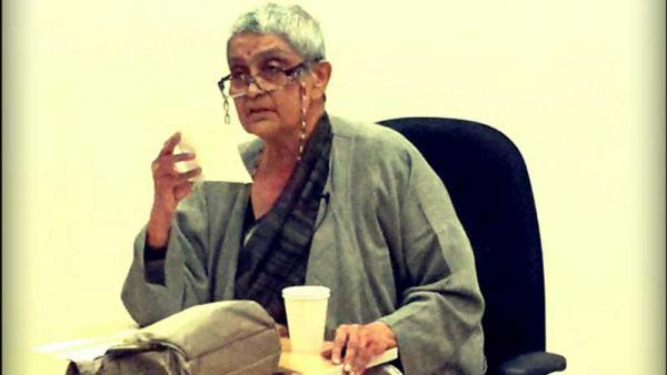 Professor Gayatri Chakravorty Spivak keynote speech