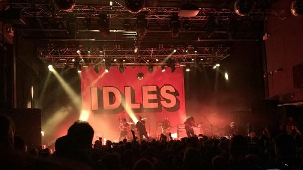 Guy Osborn reviews the band Idles at the UEA Gigs project