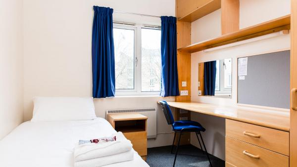 Harrow Hall standard single room