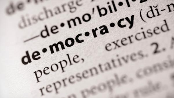generic democracy dictionary entry