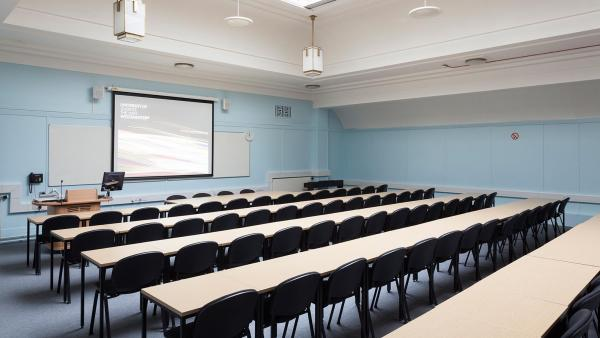 A classroom for hire in the Regent Street campus