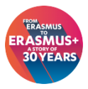 Erasmus Plus 30 years logo