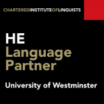 Higher Education Language Partner logo