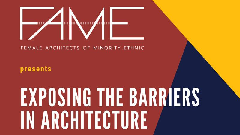FAME architecture event flyer