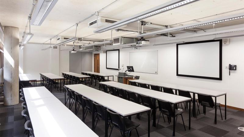 Link to Classrooms, meeting rooms and computer labs