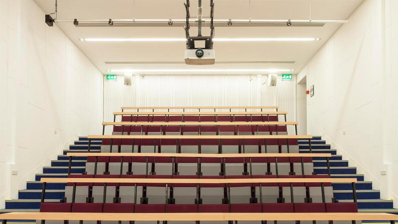 Link to Lecture theatres and conference halls