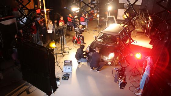 Workshop: lighting a car, with gaffer Freddie Bonfanti