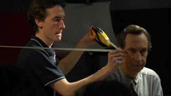 Measuring focus for actor Jonathan Hyde