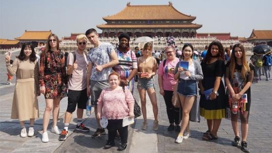 Westminster Students Experience China