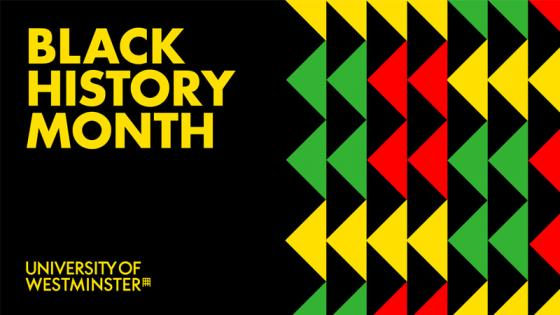 University of Westminster Black History Month logo