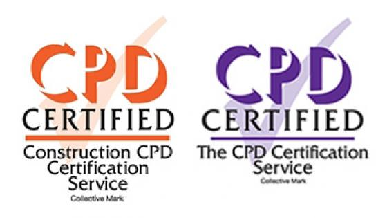 CPD Certified accreditation logos
