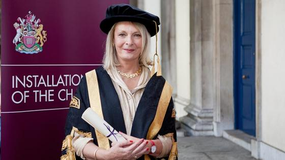 Lady Sorrell, Chancellor of the University of Westminster
