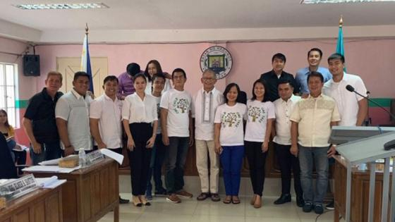 Sali's family with Hagonoy Vice Mayor and Municipal Councillors