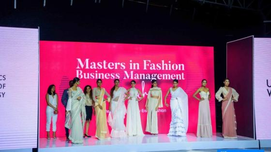 Fashion show for the Fashion Business Management MA at IIT, Sri Lanka