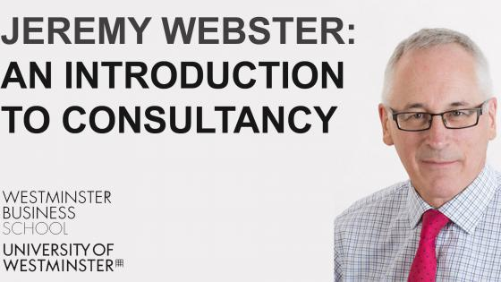 Jeremy Webster- intro to consultancy