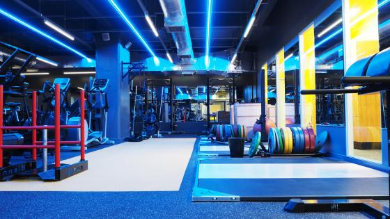 Regent Street gym weight room