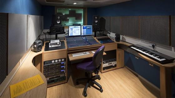 Music facilities - recording studio