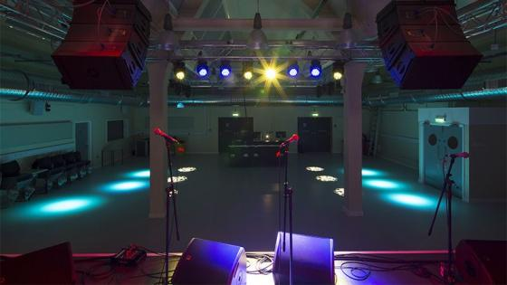 Music facilities - rehearsal space